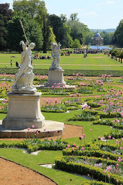 Wrest Park Gardens, Bedfordshire / England