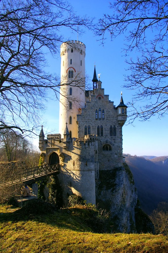 """Schloss Lichtenstein / Germany ."""