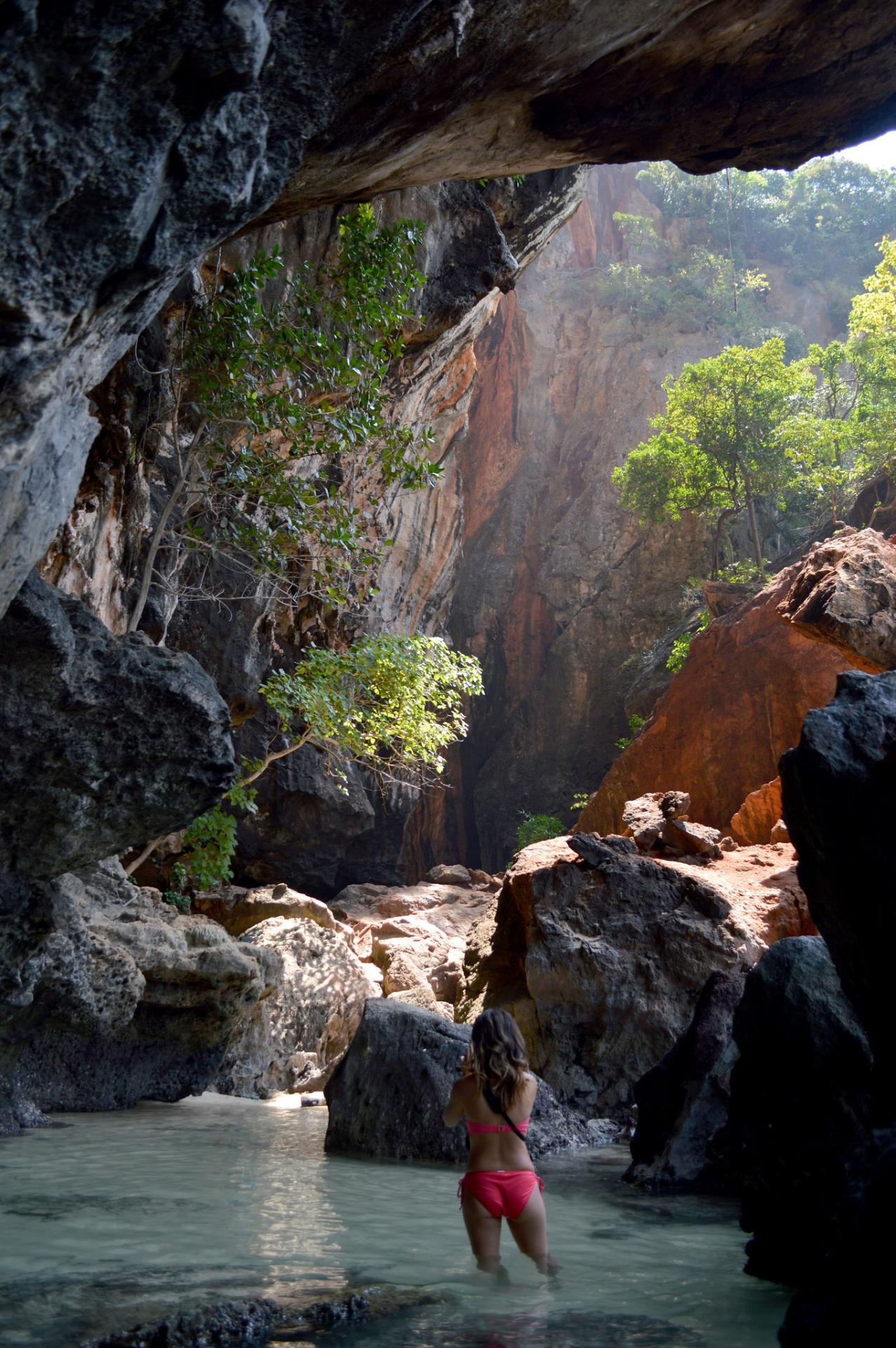Phra Nang Beach Cave, Krabi, Thailand